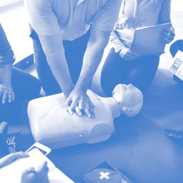 Defibrillator Services NI first aid training